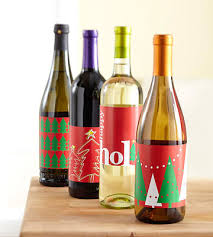Christmas Wine Free Christmas Wine Bottle Labels To Download