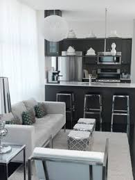 Small But Perfect For This Beach Front Condo Kitchen Designed By - Small kitchen living room design ideas