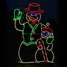 animated outdoor christmas decorations shop lighting specialists 4 ft animated waving snowman