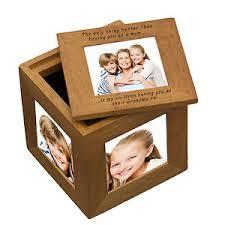 Personalised Keepsake Box Personalised Keepsake Box Oak Photo Cube Wedding Children Home