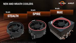 amd stock coolers and memory wraith v2 and ddr4 the amd zen and
