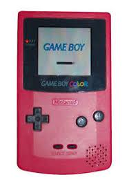 Nintendo Game Boy Color Berry Handheld System 45496710774 Ebay Gameboy Color