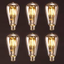 edison light bulb l lighting antique led bulb oak leaf 4w st64 vintage edison light