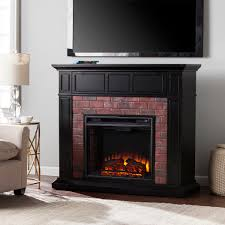 Black Electric Fireplace Black Electric Fireplace 54 As Well Home Models With