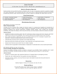 Analyst Resume Examples Sample Analyst Resume