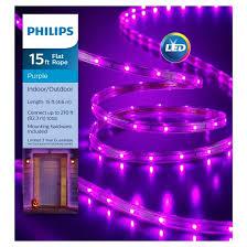 philips 135ct halloween led flat lights purple target