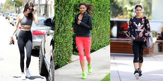 what to wear to the gym stylish celebrity workout clothes