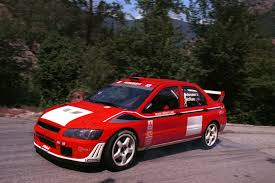 mitsubishi rally car mitsubishi lancer evolution wrc2