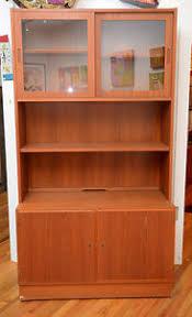 Curio Cabinet Asheville Nc Mid Century Modern Danish Teak Curio Cabinet China Hutch Credenza