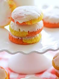 cake mix candy corn cookies