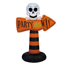 halloween airblown inflatables clearance 12 u0027 airblown inflatable welcome reaper