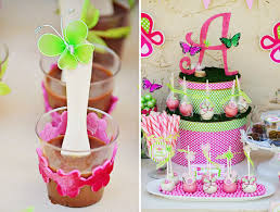 butterfly party favors bright pink green butterfly party ideas hostess with the mostess
