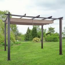 Replacement Canopy For 10x12 Gazebo by Garden Garden Winds Pergola In Beautiful Outdoor Nice Sams Club