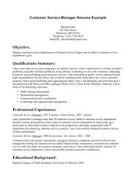 Customer Service Resume Objective Examples by Office Manager Resume Objective Free Resume Example And Writing