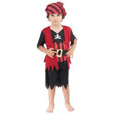 pirate costume halloween age 2 3 girls boys toddler pirate costume childrens kids book week