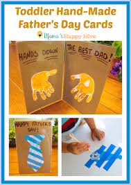 fathers day cards toddler made s day cards s happy hive