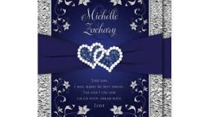 Royal Blue And Silver Wedding Royal Blue Wedding Invitations Blue Turquoise Silver Butterfly
