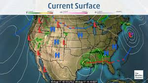 Weather Map Texas Intense High Pressure In The Southwest Has U201cstalled U201d Hurricane