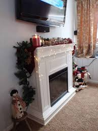 fireplace u0026 accessories shabby chic electric fireplace bright