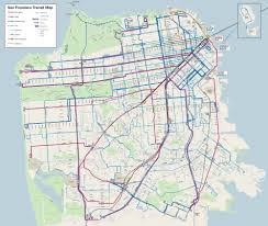 Cable Car Map Behold The New Muni Map U2013 Streetsblog San Francisco