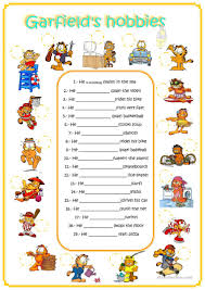 Esl Vocabulary Worksheets 361 Free Esl Hobbies Worksheets