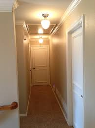 Entry Chandelier Lighting Interior Hall Way With Flush Mount Ceiling Light Using Round