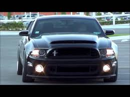 Black 2013 Mustang Gt Conversion Kit W Optional 2013 Grilles Youtube