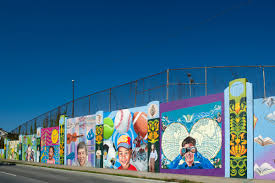 all murals artworks cincinnati the wall of education
