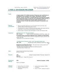 sample cover letter for registered nurse resume nurse cover letter