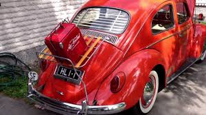 volkswagen old red volkswagen beetle 1964 with accessories coca cola youtube