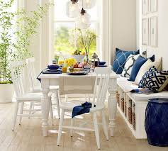 Dining Table Design by Think Casual For Small Dining Spaces U2014 A Bench On The Side Of This