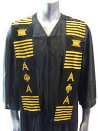 aka graduation stoles squad online premium fraternity sorority merchandise