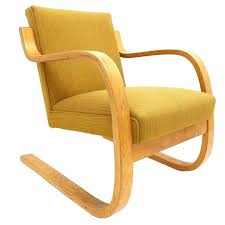Aalto Armchair Early Alvar Aalto Model 402 Chair For Artek Finland With Original