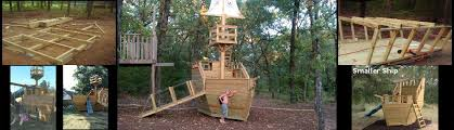 pirate ship playhouse plans easy to follow step by step instructions