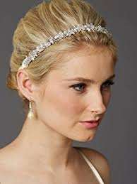 headdress for wedding topwedding rhinestone floret featured bridal floral