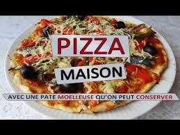 cuisiner une pizza comment faire un pizza maison maman cuisine