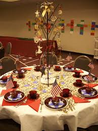 july 4th table decorations flag centerpiece independence day