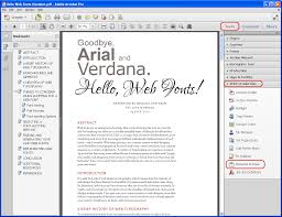 Best Font For Resume Verdana by Putting Your Best Font Forward Typography And Page Design For The