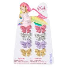 claires earrings jojo siwa rhinestone bow stud earrings s