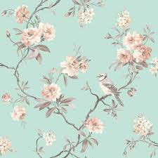 chinoiserie floral wallpaper duck egg fd40768 bedroom colours