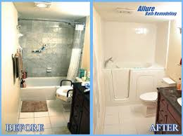Bathtub For Seniors Walk In Bathroom Remodeling Glendale Az Allure Bathroom Remodeling