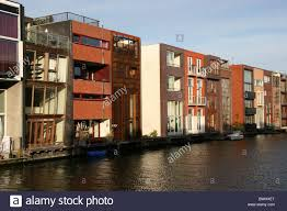 Modern Row Houses - holland netherlands holland europe amsterdam row of houses modern