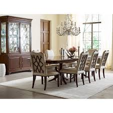 Kincaid Dining Room Furniture Traditional Double Pedestal Dining Table With 18th Century Styling