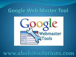 use of google webmaster tool