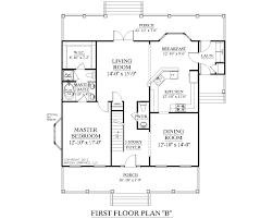 house plan ashland first floor colonial cottage three bedroom