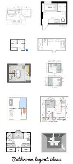 bathroom floor plans ideas best 25 bathroom layout ideas on master suite layout