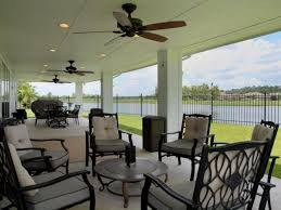 Outdoor Patio Ceiling Ideas by Round Table And Metal Chairs For Comfortable Patio Ideas Using