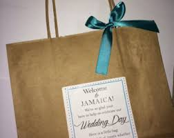 wedding gift bags for hotel welcome bag etsy