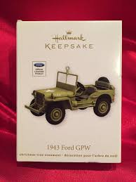 jeep christmas ornament amazon com qxi2074 1943 ford gpw army jeep 2012 hallmark keepsake