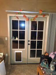 sliding glass door with doggie door dog door for french doors door decoration